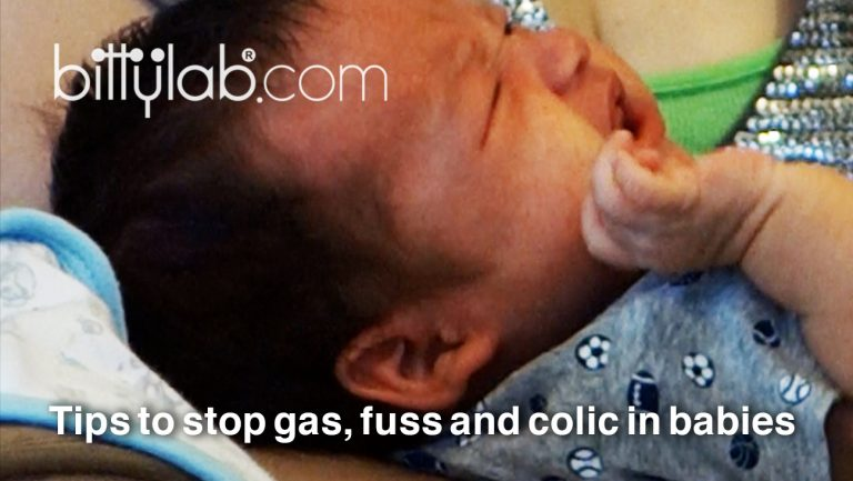How to bottle-feed a gassy breastfed baby