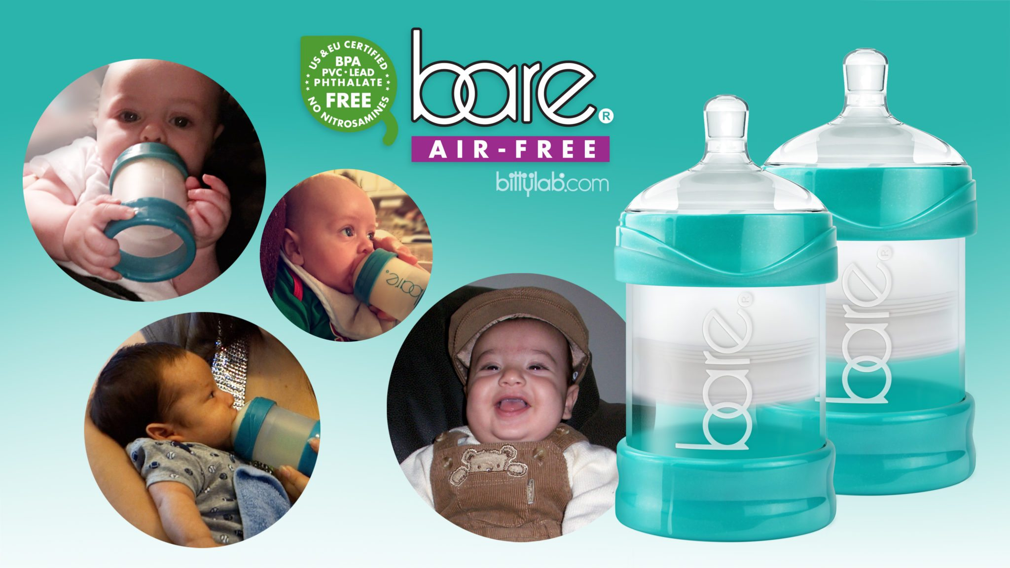 6 tips to prevent gas and colic in babies - Bare® Air-free